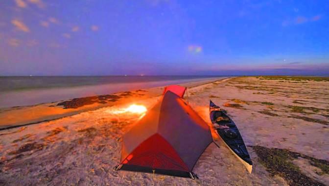 Acampar en la playa… ¿Por qué no?