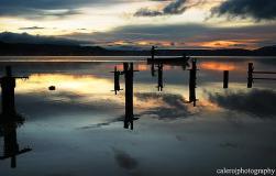 El lago de Ilopango en San Salvador, es indudablemente uno de esos lugares en los que puedes realizar cualquier tipo de actividad acuática. Foto Álvaro Calero a través de Flickr.