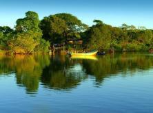 Pesca en Estero de Jaltepeque