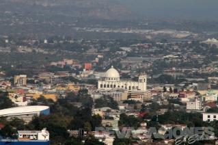 En el corazón de la capital salvadoreña