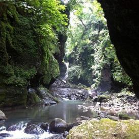 Río en Tamanique, La Libertad.