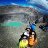 Volcan Santa Ana, vivianabellosos