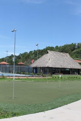 Area social del club
