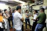 Visitantes al Museo de la Revolución Salvadoreña
