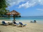 Playa privada del hotel Fantasy Island en Roatán.