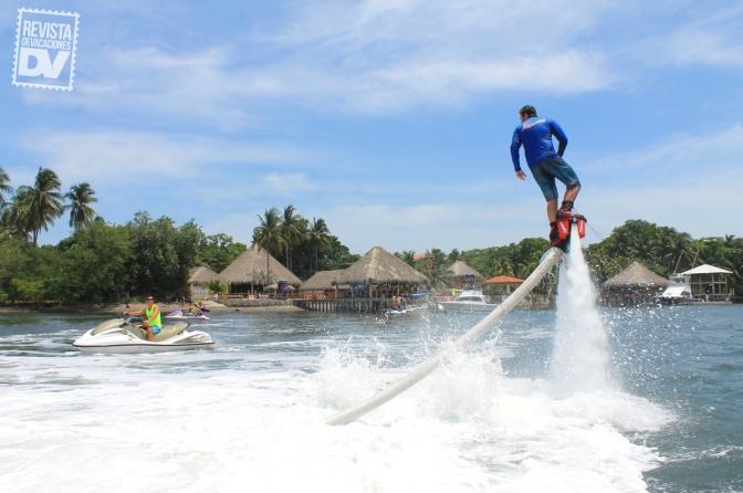 """Flyboard, lo """"in"""" en deportes acuáticos"""