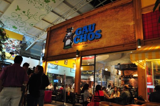¿Comida Suramericana? Gauchos, Parrilla Argentina
