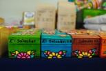Exposición de artesanías salvadoreñas. Foto Juan Borja