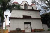 La iglesia principal de Jayauqe.
