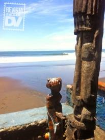 Playa El Zonte desde Olas Permanentes