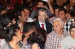 El Ministró compartió con los asistentes.