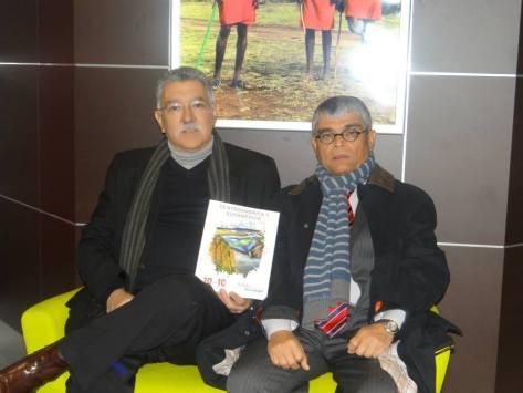 Ministro de Turismo Lic. José Napoleón Duarte Durán junto al Secretario de Cultura, Dr. Ramón Rivas