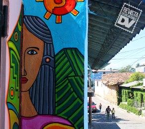 Ciudad de La Palma en Chalatenango.