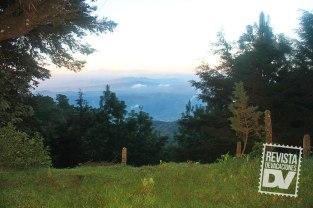 El amanecer desde el cerro Miramundo.